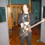 Ed Hale and the Transcendence -- All Your Heroes Become Villains album recording sessions photos